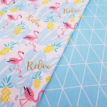 Cotton Twill Fabric  Kids 100 Cotton Cloth for DIY sewing Upholstery Bed Quilting Cotton Material 50x40cm