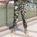 Бесплатный Армия Бренд Новое прибытие 2016 хлопка случайные брюки для мужчин камуфляж бегунов Анти-москитные брюки случайные штаны MK-7180B