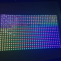 Venta WS2813 direccionable 30 24 píxeles RGB a todo color flexible LED píxel Panel de luz entrada
