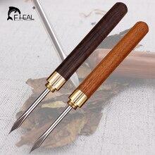 FHEAL 1 шт., сандаловое дерево, нержавеющая сталь, игла для чая с деревянной ручкой, чайный нож, инструменты для подвешивания, чайная посуда, аксессуары для чайной церемонии