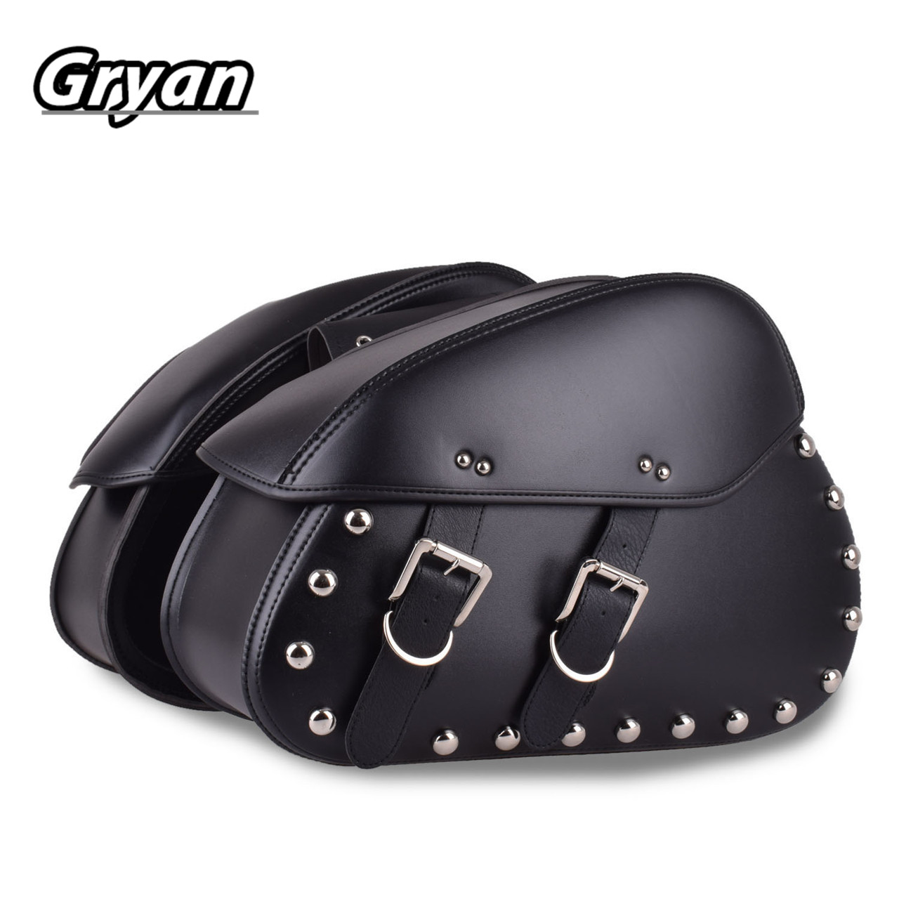48*16*35cm PU Leather XL883 XL1200 Motorcycle Saddle Bags For Harley Sportster XL 883 XL 1200 Side Tool Bag Luggage Black skull motocycle cnc derby timing timer cover engine for harley xl xr sportster 883 1200 xl xl883 xl1200 forty eight seventy two