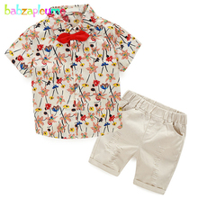 2Piece/2-6Years/Summer Baby Boys Clothing Set Toddler Suits Casual Fashion Shirt+Shorts Children Clothes For Kids Outfits BC1065