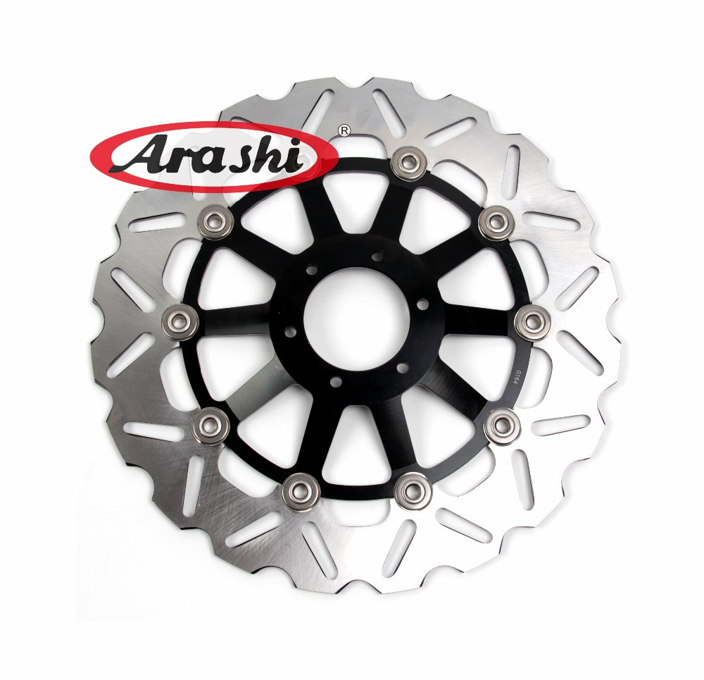 Arashi 1PCS RS125R CNC Front Brake Disc Rotors For HONDA RS125 R 1991 1992 1996 1997 1998 1999 2000 2001 2002 2003 2004 2005 arashi cnc rear brake disc brake rotors for honda cb250 cb400 cb500 cb500s 1991 2000 2001 2002 2003 2004 2005 2006