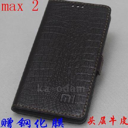 Для Xiaomi mi Max 2 чехол Роскошный чехол книжка из натуральной кожи с подставкой для Xiaomi mi Max2