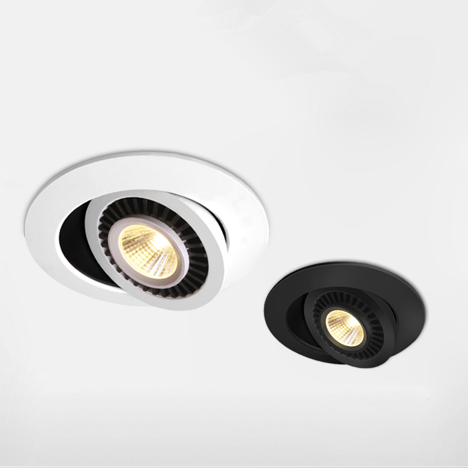 HTB1XQMibvWG3KVjSZFgq6zTspXab Dimmable Led Down light lamp COB Ceiling Light 5w 7w 10w 12w 85-265V recessed ceiling Spot Lights for kitchen bedroom home Decor