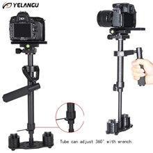 YELANGU Профессиональный DSLR Камера Штатив Handheld Стабилизатор Minicam Steadicam S60N Видео Устойчивый Видеокамеры Устойчивый Cam Glidecam