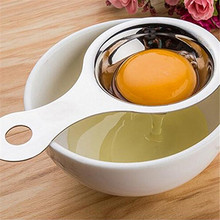 Stainless Steel Egg Separator Yolk White High Quality for Cooking Kitchen Gadget
