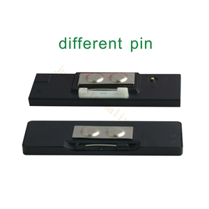 Image 3 - 10pcs 44*11 LED Name Tag Name Badge reusable Price Tag name Tape office  name tags, to Russian Federation