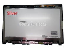 Tela de toque do portátil + assembléia display lcd para lenovo u430t u430 toque 90400157 N140FGE-EA2 3plz9lavlv20 prata novo