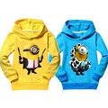 Promoção crianças asseclas roupas meninas roupas outerwear algodão nova meninos camisolas crianças hoodies verão cobre t