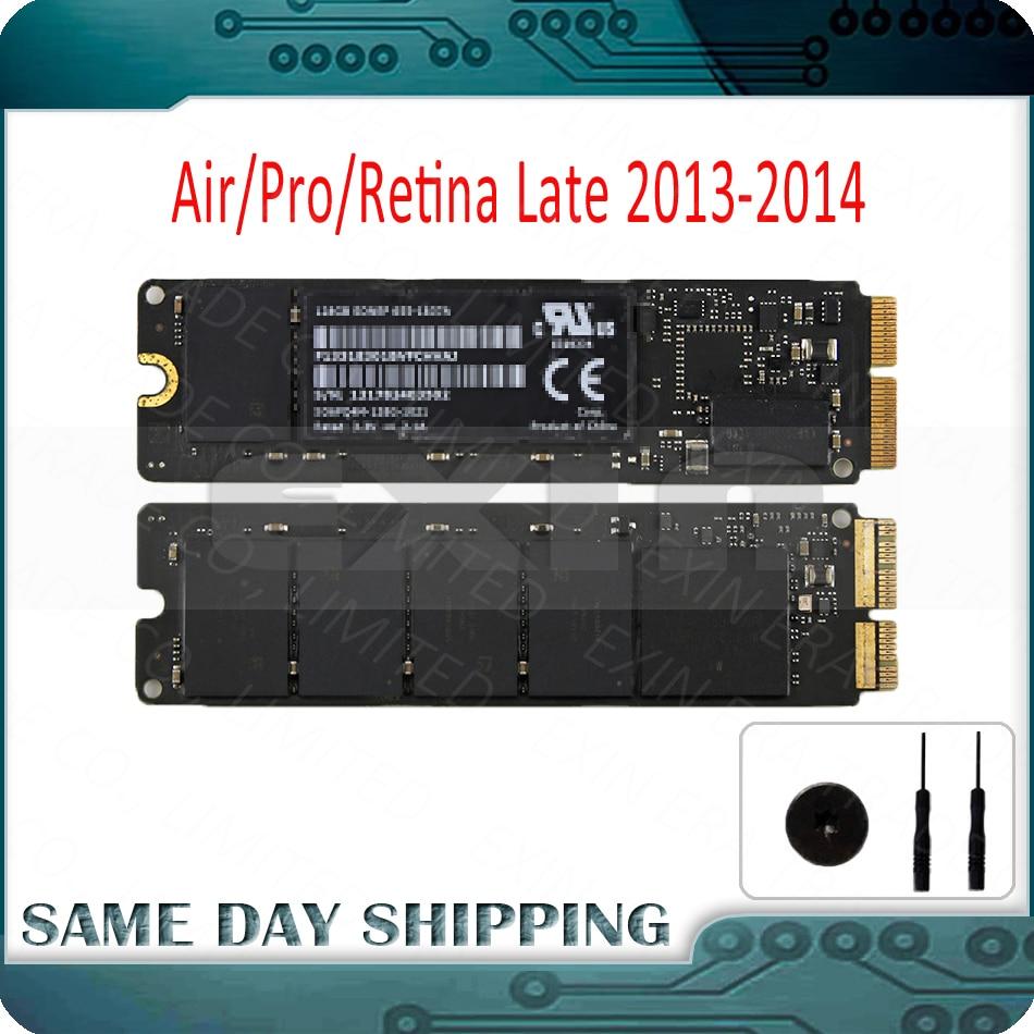 Genuine 2013 2014 Ano para Apple Macbook Pro Retina A1502 A1398 Ar A1466 A1465 SSD Solid State Drive de 128 GB 256 GB 512 GB 1 TB SSD