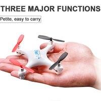 2016 más reciente jj1000 RC mini drone 2.4g 4 canales una llave para volver Control remoto helicóptero hasta 100 M para los niños como regalo