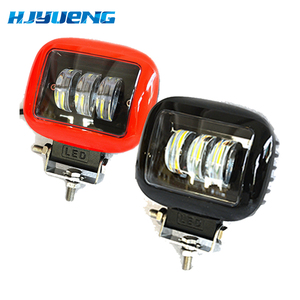 Image 1 - 2pcs LED Work Lamp 30W 12V 24V Led Car Spot Light For Lada Niva Toyota Motorcycle Tractor Auto Work LED Light Bar
