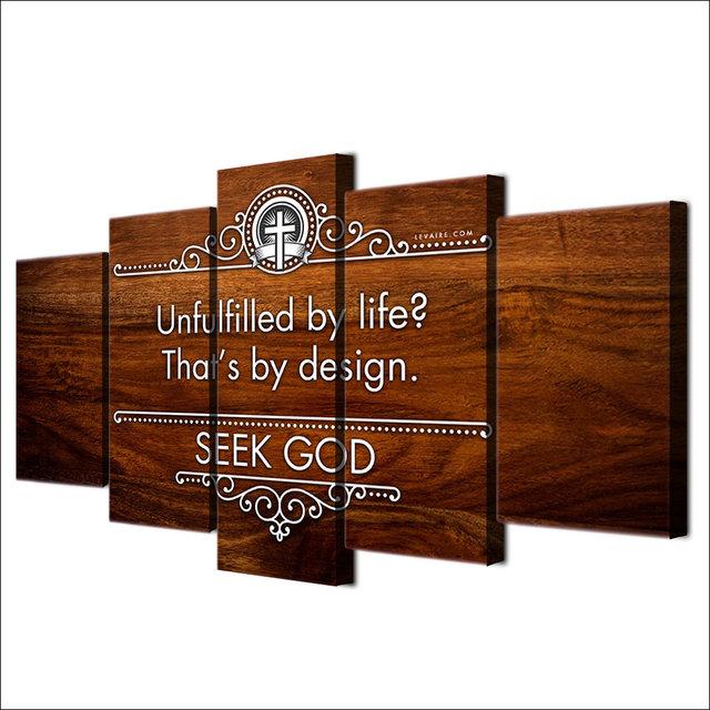 Tienda Online 5 unids/set enmarcado HD impreso cruz cristiana ...