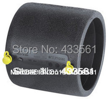 Plastic PE fittings Straight coupler pipe connector (Electro fusion) for ground heating collection tube connector