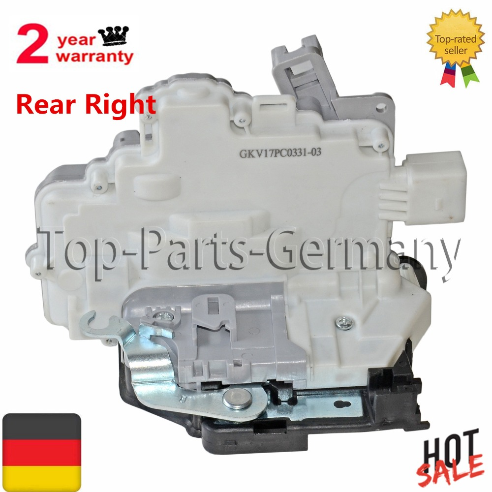 AP01 STELLMOTOR DOOR LOCK FOR SEAT ALTEA XL TOLEDO 5P CENTRAL LOCK REAR RIGHT 1P0 839 016 A 1P0839016A