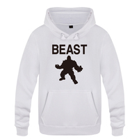 Beast Mode MMA Fitness Hoodies Men 2018 Men's Pullover Fleece Hooded Sweatshirts