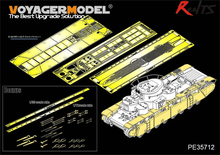 RealTS Voyager Modern PE35712 WWII Russian T 35 Heavy Tank Fenders Track Covers For HobbyBoss 83841