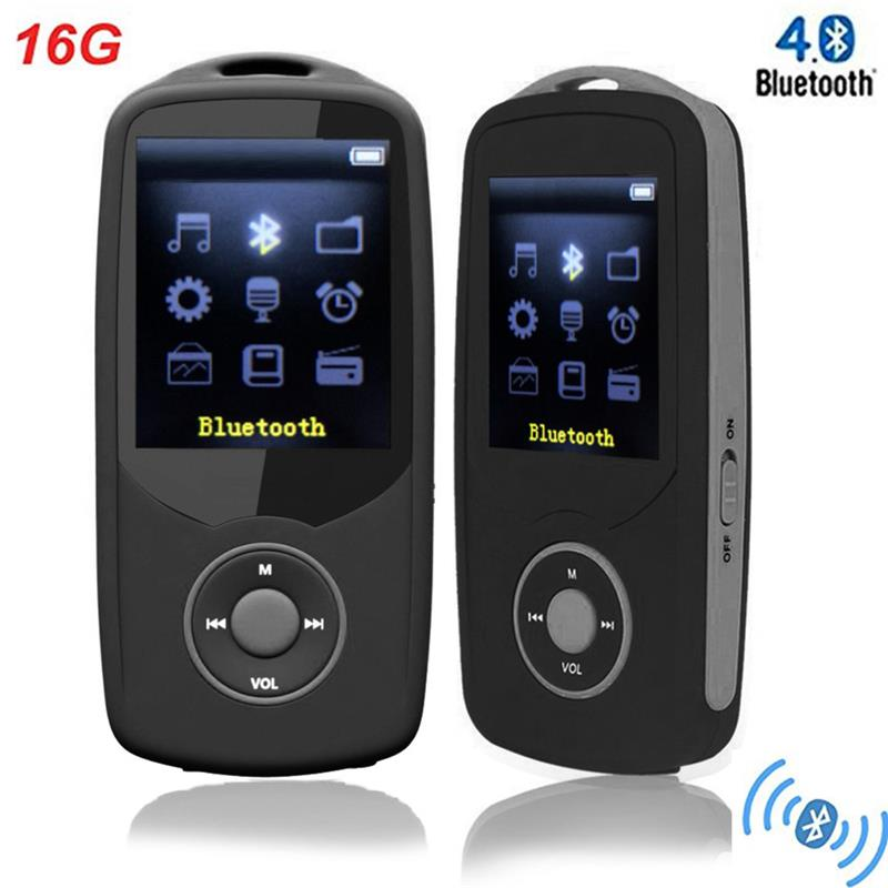 Version Original Ruizu X06 Bluetooth Mp3 Music Player With 1.8 Inch Screen High Quality Voice Recorder Fm Radio Walkman Excellent In Cushion Effect Hifi Devices