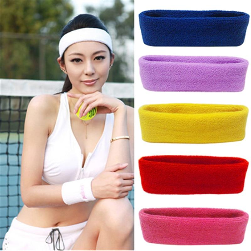 Hot Sale Sports Yoga Gym Stretch Headband Head Band Hair Band Sweat Sweatband Mens Women turbante pelo mujer