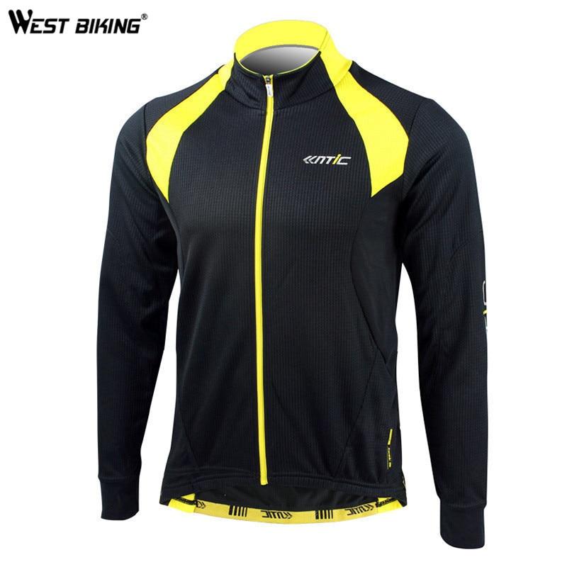 ФОТО WEST BIKING Winter Cycling Clothing Windproof Fleece Thermal Ropa Ciclismo Sport Jacket Hiking Bike Bicycle Cycling Jersey