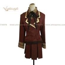 Kisstyle Fashion Tsubasa: Reservoir Chronicle Sakura Scholl Uniform COS Clothing Cosplay Costume,Customized Accepted