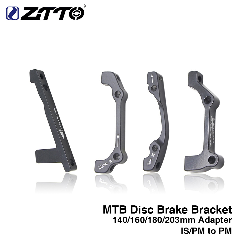 ZTTO MTB 1pc Disc Brake Ultralight Bracket IS PM A B to PM A Disc Brake Mount Adapter for 140 160 180 203mm rotor