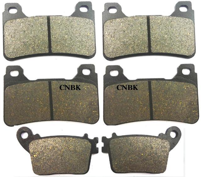 Brake Pad Set fit for HONDA CBR 600 CBR600 RR CBR 600RR CBR600RR 2007 2008 2009 2010 2011 2012 2013 2014 2015 2016 Front Rear