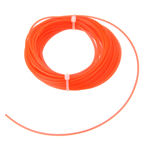 Image 2 - 1pc 15m x 1.25mm Nylon Trimmer Line Grass Cutter Rope Trimmer Roll Cord Wire String for Grass Strimmer Replacement