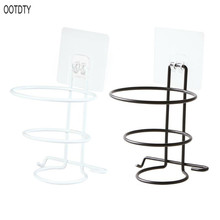 Hair Dryer Rack Wall Mounted Bathroom Hotel Stand Holder Hairdryer Shelves Shelf Storage Hanger No Drilling