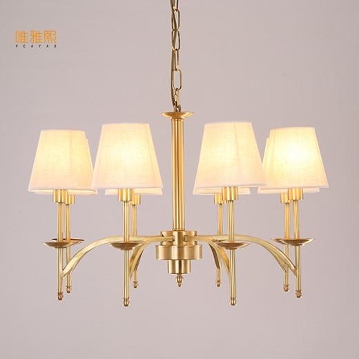 Veayas Luxury Empire Crystal Lustr Osvětlovací lampy Lustry Závěsná světla Zlatá lustrová světla pro Hotel Decor