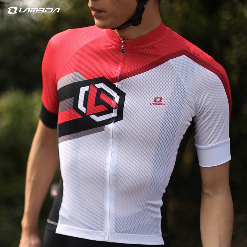 summer  Pro team Short Sleeve breathable sports Cycling Jersey Mtb mountain road bike Clothing bicycle Clothes