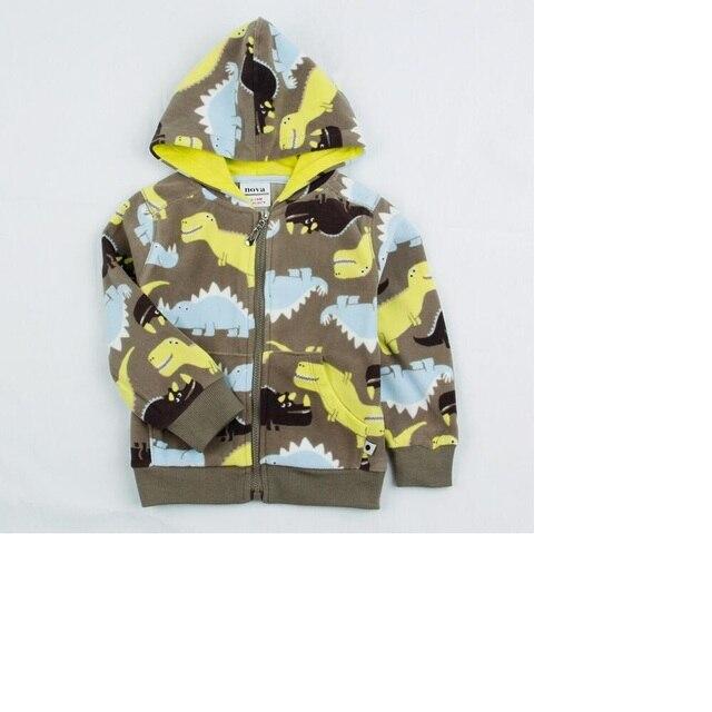 Free Shipping 2016 Children S Autumn Coat Boy Cotton Cartoon Pattern