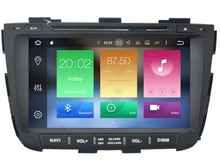 Android 6.0 CAR Audio DVD player FOR KIA SORENTO 2013 gps Multimedia head device unit receiver BT WIFI