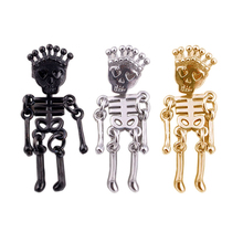 New Design Limbs Skeleton Skull Stud Earrings Halloween Party Horror Jewelry Vintage Punk Earring Gift
