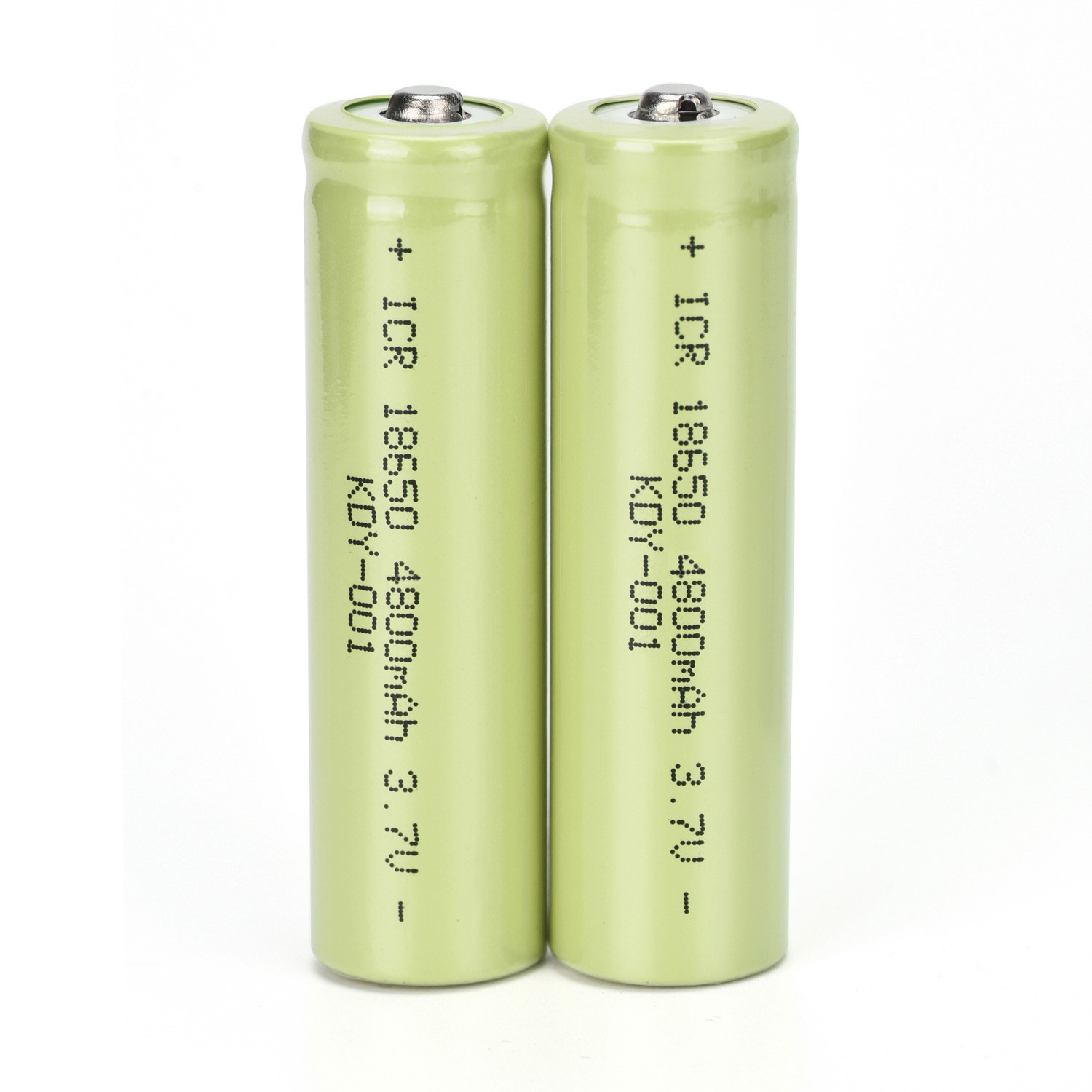 ISHOWTIENDA 2PCS 3.7V 4800mAH Li-ion Rechargeable 18650 Battery For Flashlight Torch emergency lighting