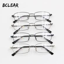 BCLEAR Relax Memory Titanium Optical Frame Men Popular Classic Small Face Full Rim Prescription Eyeglasses Cheap Eyewear Frames