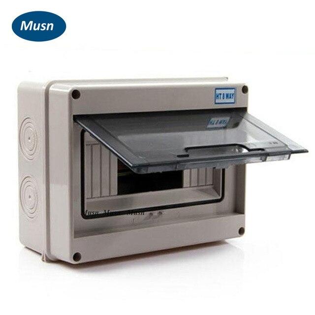 IP65 Elektroverteilung Wasserdichte Abdeckung Elektrische Box ...