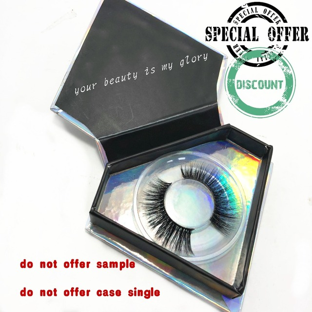 Customized Mini Diamond Case For Strip Lashes Package Volume