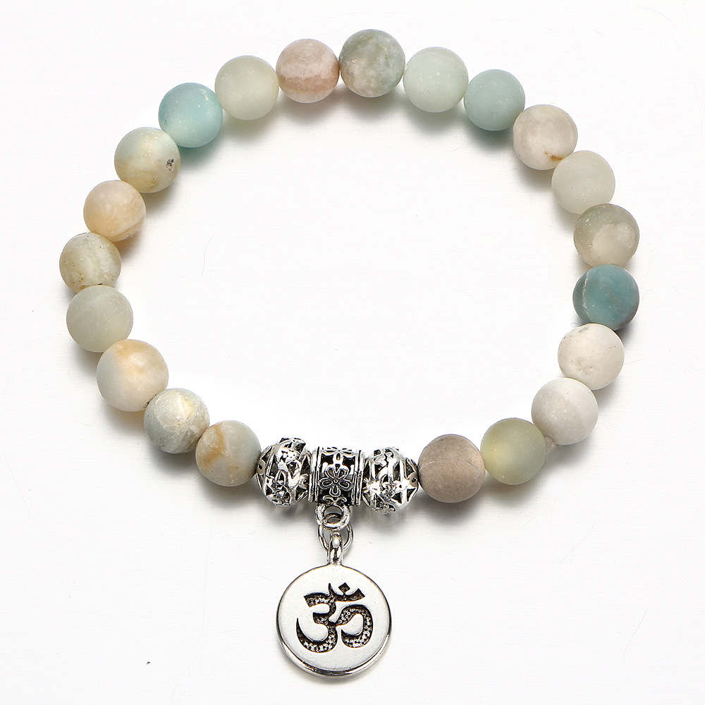 Miss JQ Women natural Stone Charm Bracelet Crystal Beaded For Women Friendship Jewelry Charm Bangle Pendants Bracelet Adjustable