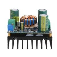 600ワットハイパワーdc/dc調整可能なブースターモジュールソーラー電源電圧レギュレータブースト降圧電圧コンバータ用カー車