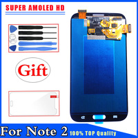 Super AMOLED HD New LCD Display Touch Screen Digitizer Replacement For Samsung Galaxy Note 2 N7100