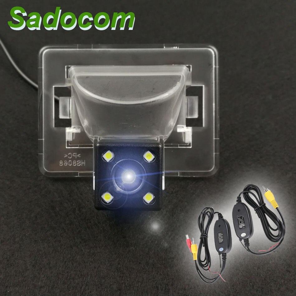 Автомобильная Водонепроницаемая камера заднего вида HD CCD светодиодный ночного видения для Mazda 5 2006 2007 2008 2009 M5