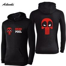 Aikooki Deadpool Hoodies Women Men's Hoodie and Sweatshirts Hoodies Male Famale Moletom Fashion Casual Brand Clothing Deadpool