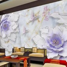 Beibehang Custom wallpaper 3D TV living room bedroom wall mu