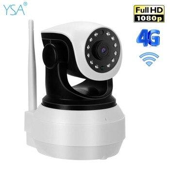 YSA 1080P HD Home Wireless IP Camera Wifi 3G 4G SIM Card 2MP Baby Security Camera Two Way Audio IR Night Vision Surveillance Cam