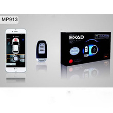 Auto PKE SmartPhone Ios Android Start Stop Car Alarm LED Starline Central Lock Remote Parking Sensors