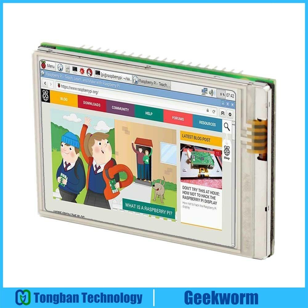 Raspberry Pi Zero (Zero w) 2,8 дюйма, самый быстрый 60 + fps HD сенсорный ЖК-экран | 640x480 2,8