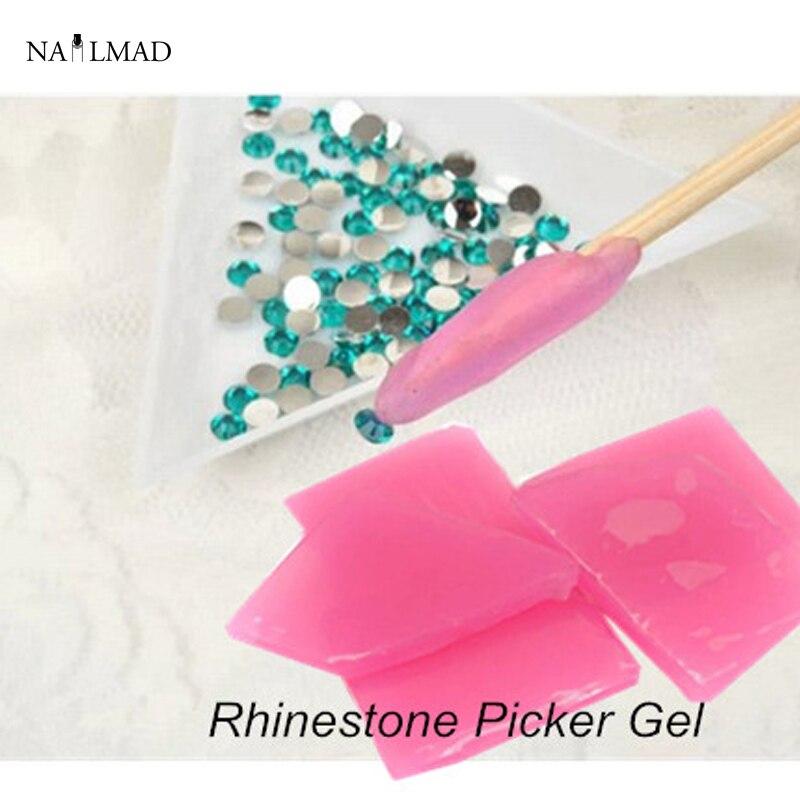 2pcs Nail Art Rhinestone Picker Gel Cube Gem Dotting Tools Tool In From Beauty Health On Aliexpress Alibaba Group