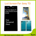 T3 5.3 inch Full display LCD Digitizer Assembly For Sony Xperia T3 m50w D5102 D5103 D5106 Lcd Touch Screen